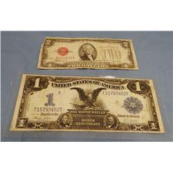 1899 Federal Reserve Note; 1928 Federal Reserve Note