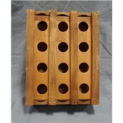 Vintage one dozen egg carrier crate