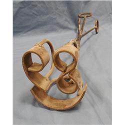 """Montana Centennial branding iron, 16"""" long, 2.75"""" tall numbers"""