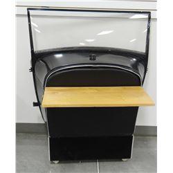 Vintage car bar/folding table, no machine