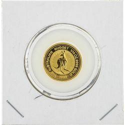 1999 Australian Nugget 1/10 oz Gold Coin