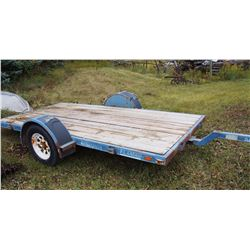 Trailtech Single Axe Trailer SK401253195 6x12ft