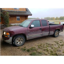 2000 GMC SLE 2WD Pickup Truck 5.3L, Vortec, Automatic, Fully Loaded Ext Cab (309,000kms)