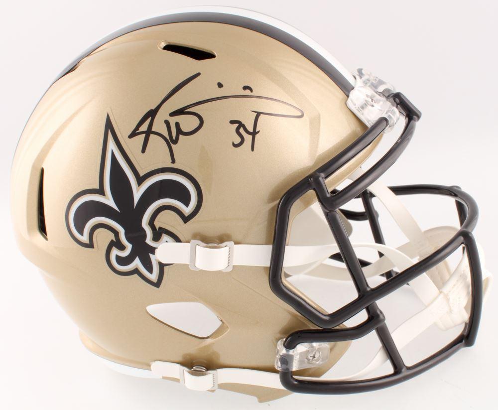 Image 1   Ricky Williams Signed Saints Full-Size Speed Helmet (Radtke COA) 152787fd1