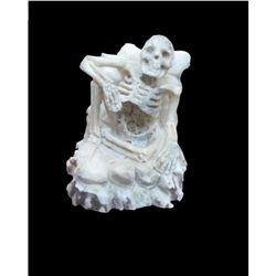 Skeleton In Antler Carving