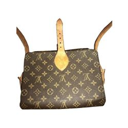 Certified Authentic Louis Vuitton Monogram Cartouchiere Shoulder Bag