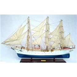 """Wooden Christian Radich Limited Model Tall Ship 28"""""""