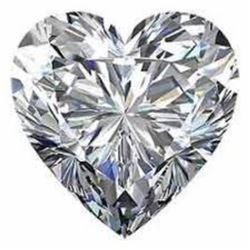 4 carat Heart Facet BIANCO Diamond