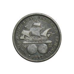 1892 Columbian Exposition Half Dollar - Commemorative US Coin