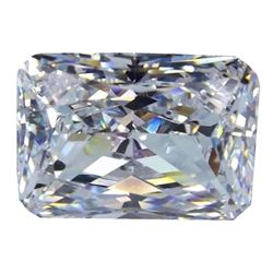 6.79ct Radiant Cut Bianco Diamond