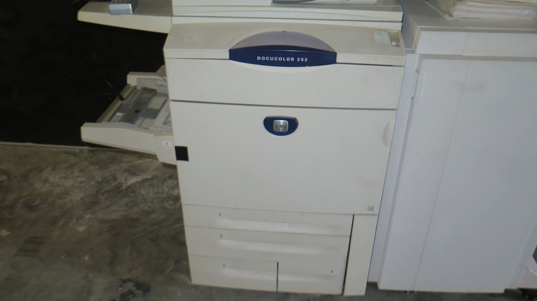 Xerox DocuColor 252 Production Printer Copier Copy Machine