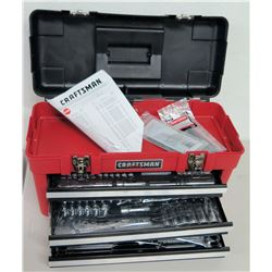 New Craftsman 185-Piece Mechanic's Tool Set w/ Waterloo Box