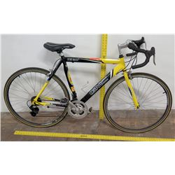 GMC Denali Road Series Rivo Shift Racing Bike, Yellow/Black, Shimano