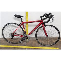 All EZ Sport Tiagra Enhanced Aluminum Racing Bike, Red Frame, Shimano