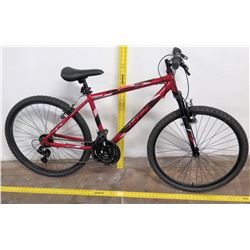 "Huffy 26"" Rival 21-Speed Mountain Bike, Red/Black, Shimano"