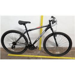 "Mongoose 29"" Excursion 21-Speed Mountain Bike, Black/Gray Frame"