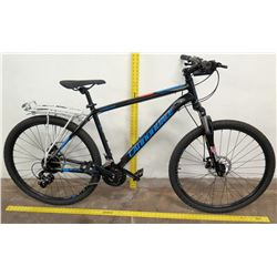 Cannondale Catalyst 7-Speed Mountain Bike w/ Rack, SR Suntour, Black