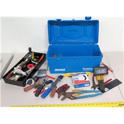 Makita Eagle Toolbox w/ Hand Tools, etc.