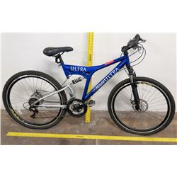 Michelob Ultra SRAM 7 Speed Mountain Bike, SunRun Index System, Blue
