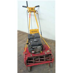 McLane Blade Reel Lawn Mower, Gas Engine