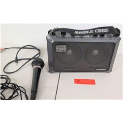 Roland Mobile Cube Stereo w/ Pioneer Microphone