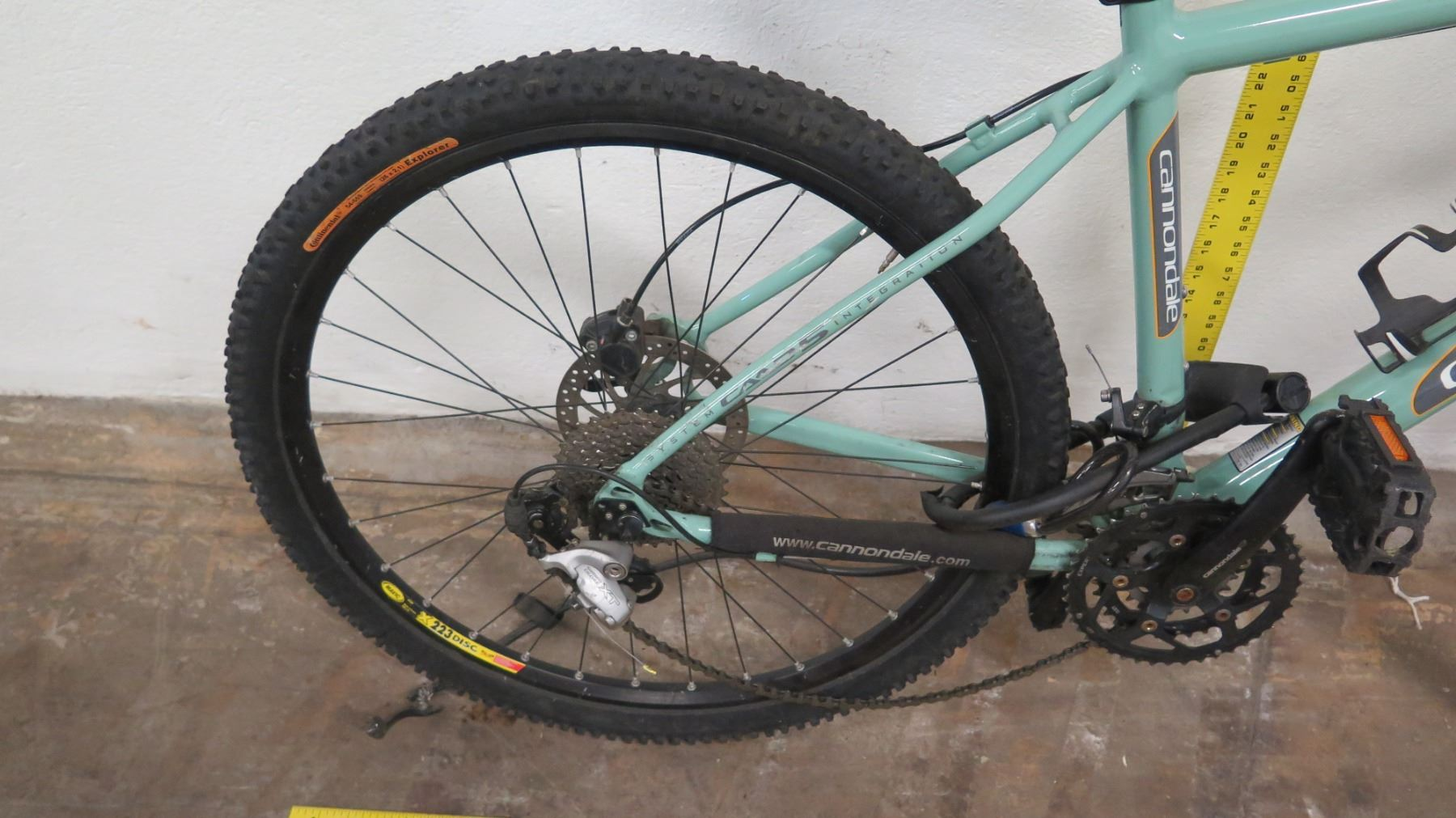 45ab886b4e8 ... Image 2 : Cannondale F800 Defore XT Headshock Si Lefty Mountain Bike,  Shimano, Blue ...