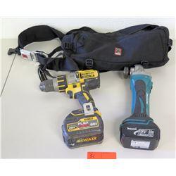 DeWalt 20V Max XR Drill & Makita LXT Driver