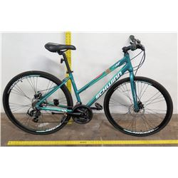 Schwinn  21-Speed Circuit Bike, Shimano Hybrid Women's 700 CL, Teal