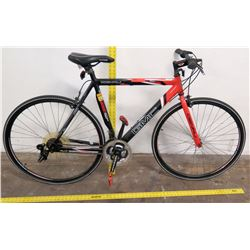 GMC Denali Road Series Racing Bike, Shimano Rivo Shift, Red Black