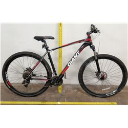 Giant Talon 292 SA Suntour Bike, 100MM XCT Cross Mark, Black Red