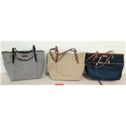 3 New Michael Kors Bags (Monogram Canvas & Nylon)