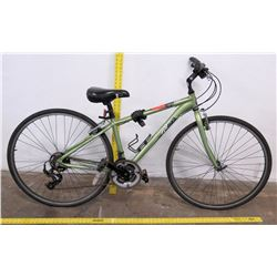 K2 Echo Shimano 21-Speed Hybrid Bike, Green