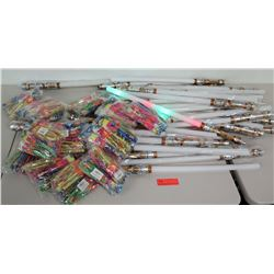 Assorted Light-Up Saber Swords & Light-Up Aerial Flyers