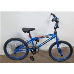 "Genesis 20"" Boys Krome Freestyle Trick Bike, Blue"