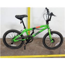Mongoose Blitz Go All Out Boys Freestyle Trick Bike, Green
