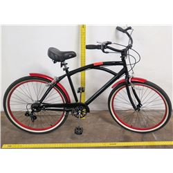 Kent Boy's Road Bike, Black/White/Red