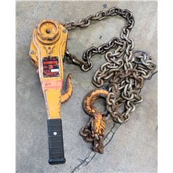 Harrington 3-Ton Chain Hoist