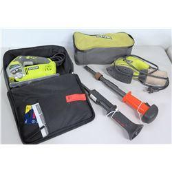 Ryobi Speed Match Jigsaw, Ryobi Sander & 2 Ramset Tools