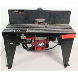 Skil Router Table 4510 w/ Attached Skil 1-3/4 Router Saw