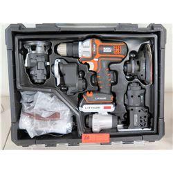 Black & Decker 6 Tool Combo Kit w/ Case