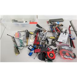 Misc Hand Tools: Wrenches, Wire Cutters, Screwdrivers, Tape Measures, etc