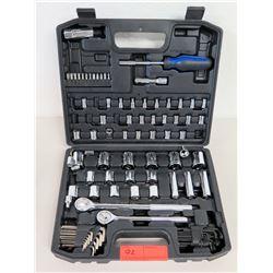 Hyper Tough 107-Piece Socket Set w/ Rachet Handle