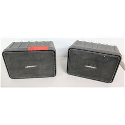 Qty 2 Bose Model 121 Mobile Monitor Speakers