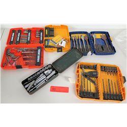 Socket Wrench Set, Multiple Screw & Drill Bit Sets (DeWalt/Black & Decker)