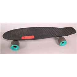 Kryptonics Black Skateboard w/ Green Wheels