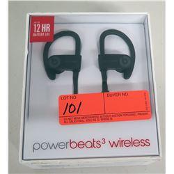 New Apple Powerbeats 3 Wireless Ear Buds, 12-Hour Battery Life