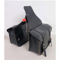 Harley Davidson Leather Motorcycle Saddle Bags