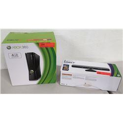 X-Box Kinect 360 Game Console in Box w/ Sensor, 4 GB
