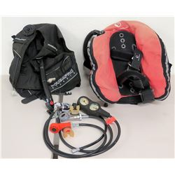 Scuba Pro Dive Bag, Float & Scuba Gauges, Regulators