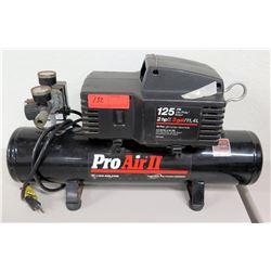 Pro Air II Air Compressor, 125 PSI, 2 HP, 3-Gallon 120 Volt